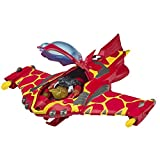 Ben 10 Heatblast Action Figure with Rocket Flyer