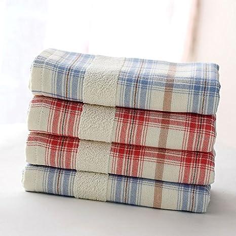 Gasa de algodón cara toalla sudor absorbente toalla de lavado absorbente super absorbente (4 piezas