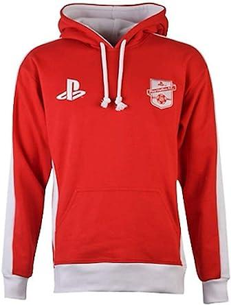 Sony Playstation - Fútbol FC 1994 - Oficial Sudadera para Hombre Rojo - Rojo, L: Amazon.es: Ropa y accesorios