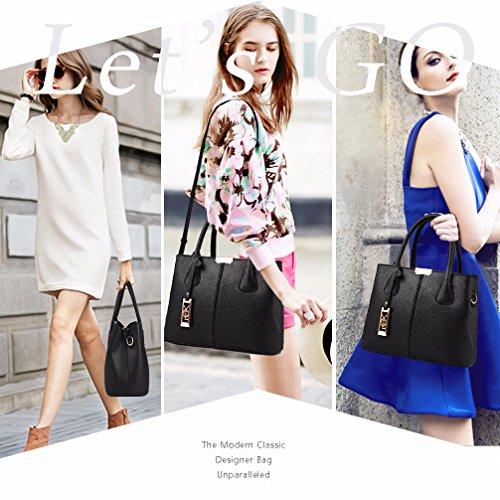 COCIFER Women Top Handle Satchel Handbags Shoulder Bag Tote Purse Messenger Bags by COCIFER (Image #7)