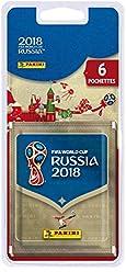 Panini FIFA World Cup 003497BLGB  2018 STICKERS Blister 6 pochettes - version Anglais