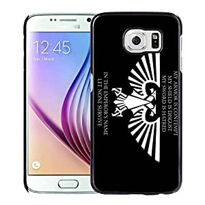 Unique and Durable Galaxy S6 Case Design with Imperial Aquila 2 Black Case for Samsung Galaxy S6