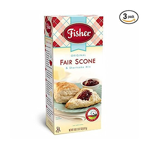 Fisher Original Fair Scone & Shortcake Mix, Pack of 3 by Fisher