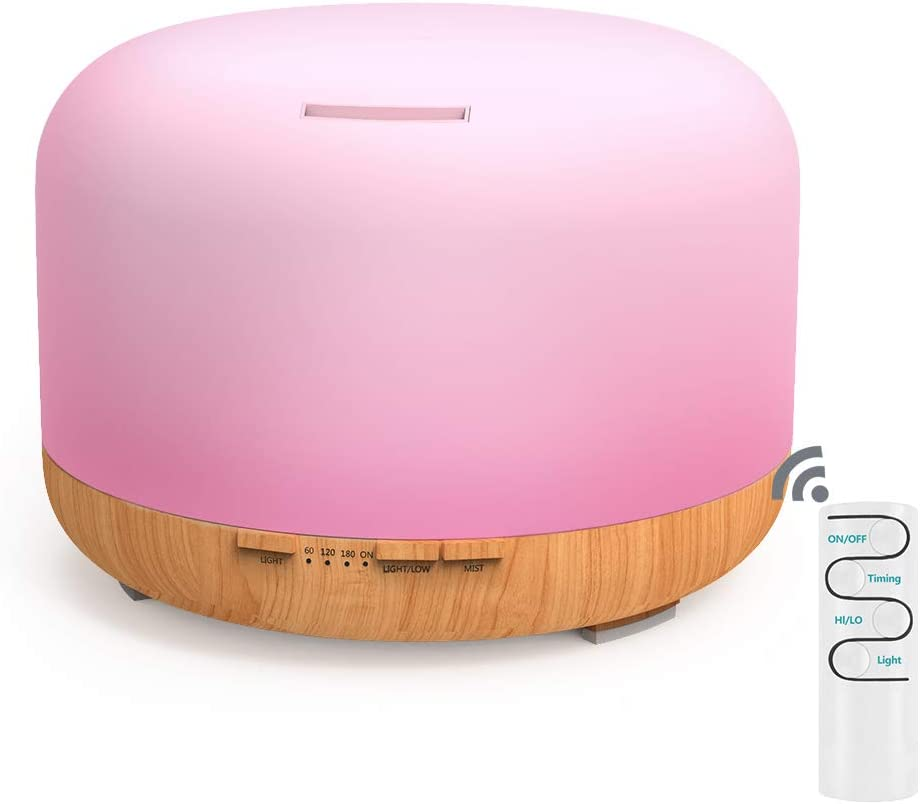 UK Essential Oil Aroma Diffuser Electric LED Humidifiers Ultrasonic Home Defuser