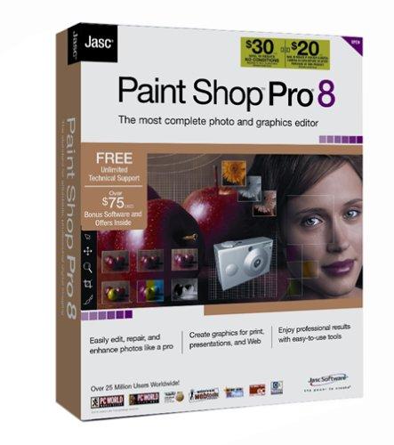 Amazon.com: Jasc Paint Shop Pro 8 [OLD VERSION]