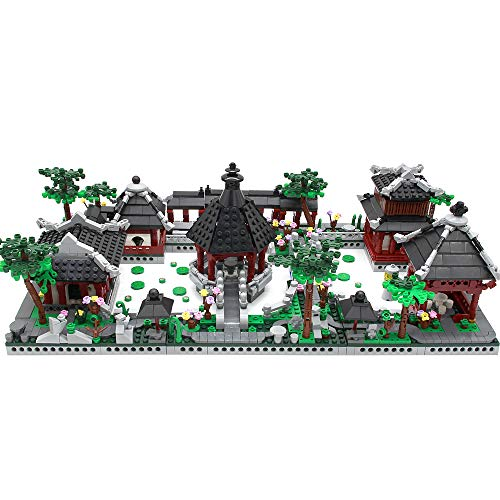 Feleph Mini Building Block Set,Garden Constration Building Toys in Glassic Chinese Element Pres-Education Kits for Kids 2479 Pieces Brick Nice Gift for Birthdays