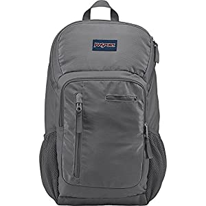 JanSport Impulse Laptop Backpack (Shady Grey Triangle Dobby)