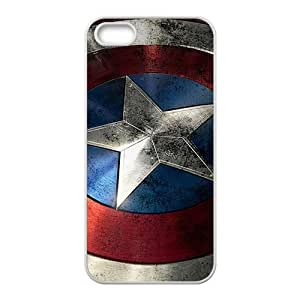 captain america's shield Phone Case for iPhone 5S Case