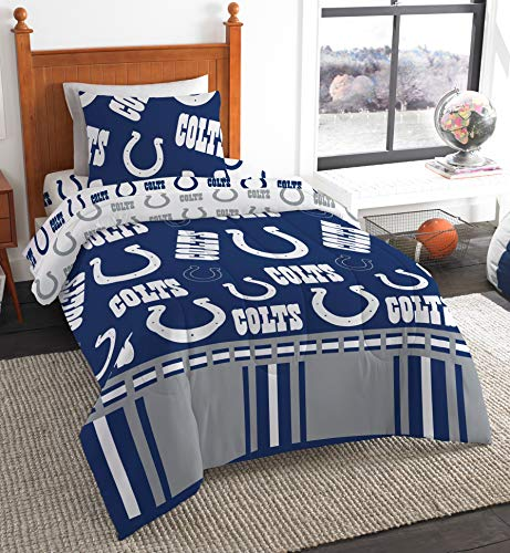 - The Northwest Company NFL Indianapolis Colts Twin Bed in a Bag Complete Bedding Set #275659149