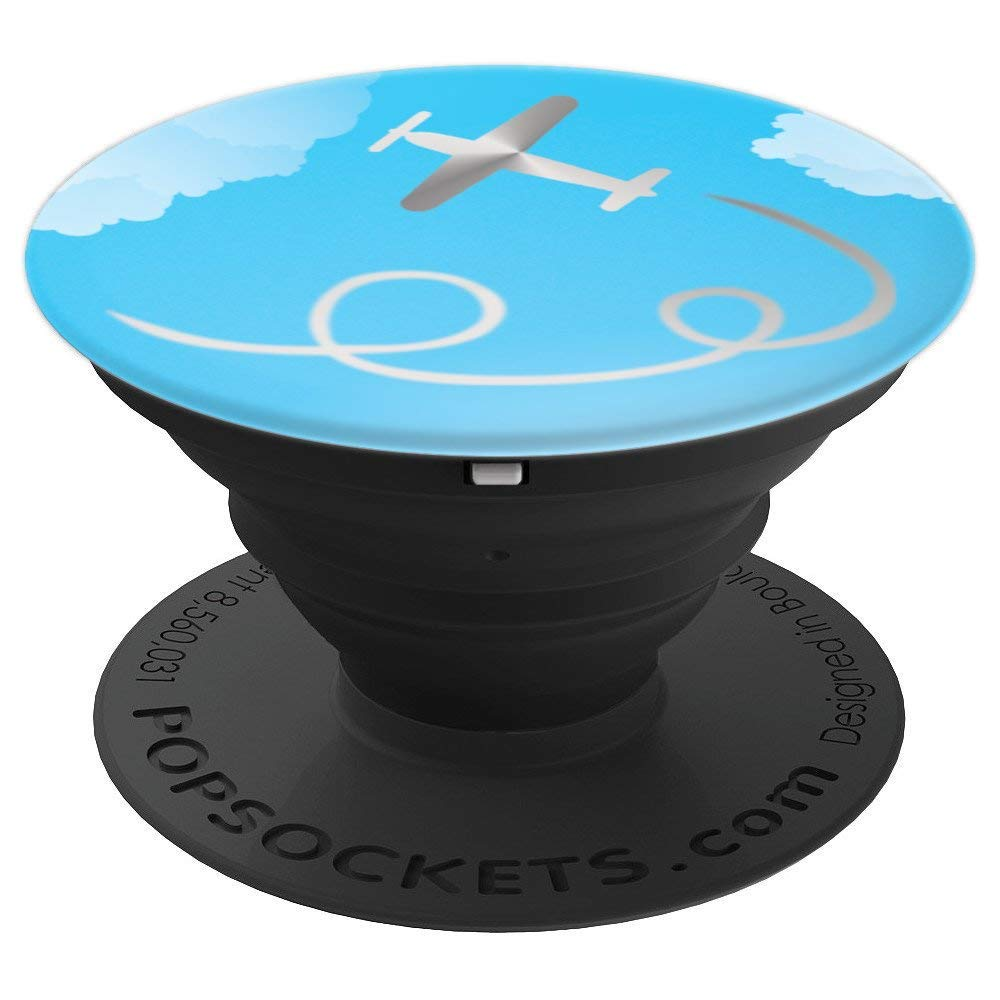 Aerobatic Airshow Aircraft Airplane Plane Flight Fly Flying - PopSockets Grip and Stand for Phones and Tablets