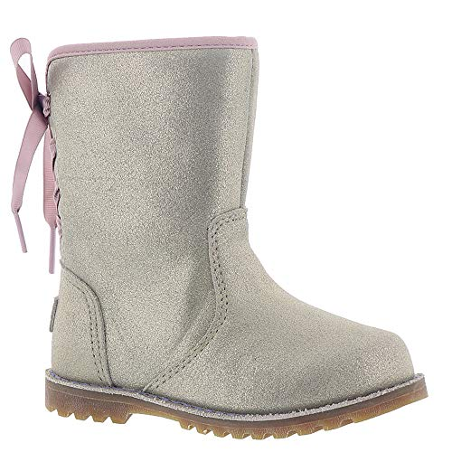 (UGG Girls' T Corene Metallic Fashion Boot Gold 12 M US Little Kid)