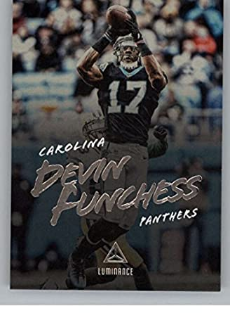 Football NFL 2018 Panini Luminance Luminance  63 Devin Funchess  63 NM Near  Mint Panthers 40f04e8b5