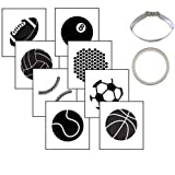 Country Kitchen Sports Ball Cookie Cutter Texture Set