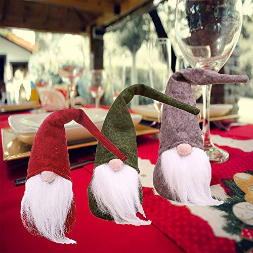 Easter Gnome Plush, 5PCS Handmade Birthday Gnome Swedish Tomte Gnome Elf Gnome Santa Home Ornaments Decoration Table Décor