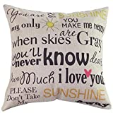 Cushion - Brand Fashion Design Pillowcase Home Bed Pillows Vintage Cotton Diy Custom Linen Blended Cushion - Cotton Feathers Stitch Embroidery Feather Waist Carpet Michael Down Sleep Cross