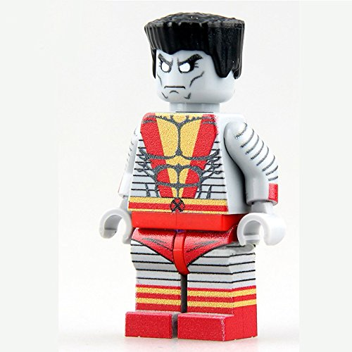 [Single Sale ActionToys Colossus/FiguresHeroes Minifigures Mini Blocks Educational Toys DIY Building Blocks] (Marvel Colossus Costumes)