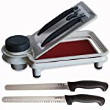 BeTHINQ Adjustable Prep Pro with 2 Knife Set