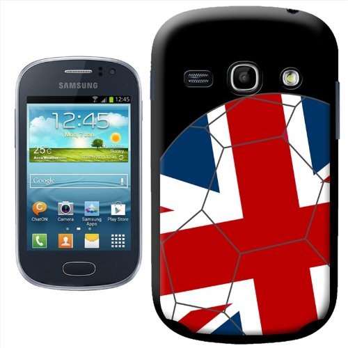 - Fancy A Snuggle Union Jack Flag on Football Design Hard Case Clip On Back Cover for Samsung Galaxy Fame S6810