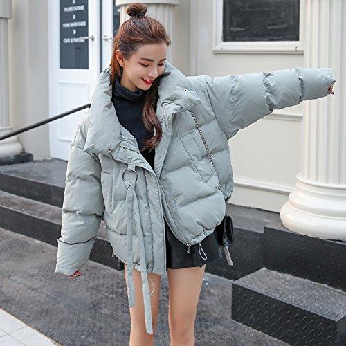 Bread Xuanku green Wild Jacket Small Short Cotton light Coat Loose Winter Clothes Cotton rXCqwRX