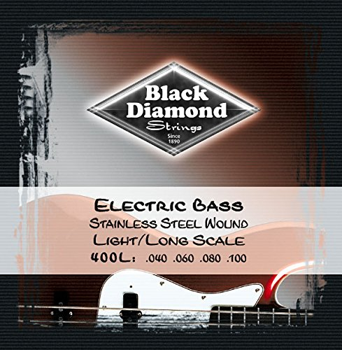 Black Diamond Electric Bass - 1