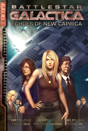 Battlestar Galactica  The Manga    Echoes Of New Caprica  V  1
