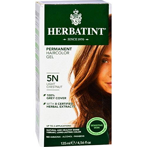 Herbatint Permanent Herbal Haircolour Gel 5N Light Chestnut - 135 -