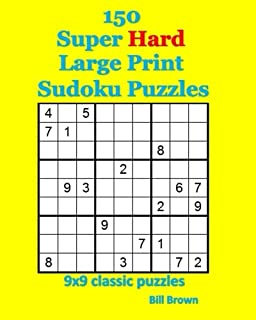 photograph regarding Printable Sudoku 6 Per Page known as Sudoku Advisor 50 Demanding Position Enormous Print Puzzles: A single Puzzle