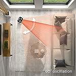 Pro-Breeze-Termoventilatore-Ceramico-2000W-Tecnologia-Ceramica-a-Basso-Consumo-Energetico-Oscillazione-Automatica-e-2-Impostazioni-di-Temperatura–Bianco
