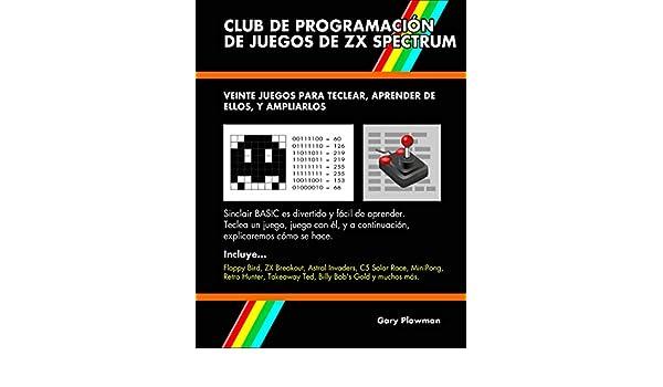 Amazon.com: Club De Programación De Juegos De ZX Spectrum: Veinte ...