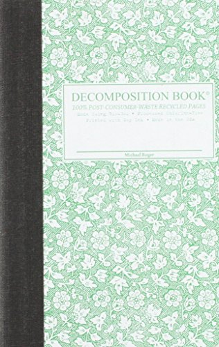 Parsley Pocket-Size Decomposition Book: College-Ruled Composition Notebook With 100% Post-Consumer-Waste Recycled (Michael Floral Print)