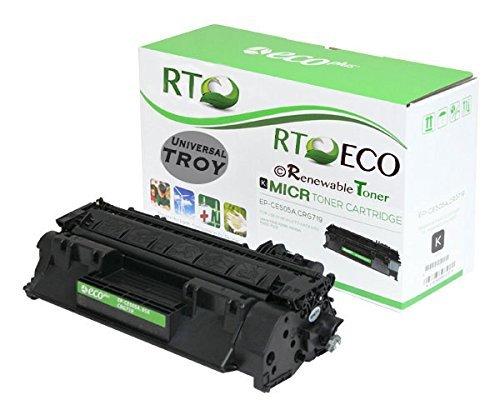Renewable Toner Compatible MICR Toner Cartridge Replacement TROY 02-81500-001 HP CE505A 05A for LaserJet P2035 P2055