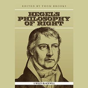Hegel's Philosophy of Right Audiobook
