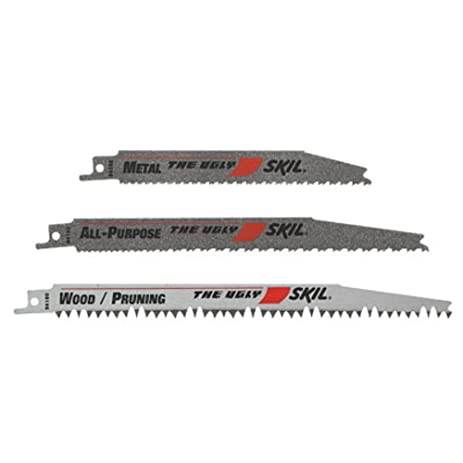 Skil 94903 ugly reciprocating saw blade set 3 piece the ugly skil 94903 ugly reciprocating saw blade set 3 piece greentooth Images