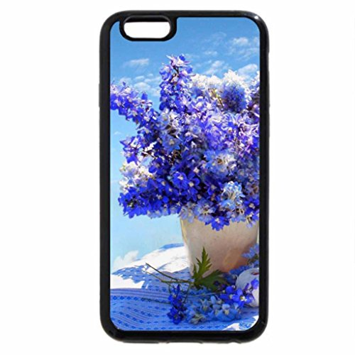 iPhone 6S / iPhone 6 Case (Black) lavender flowers for Jean