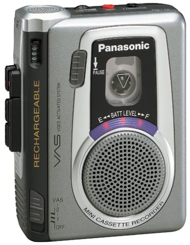 Panasonic RQL50 Mini Cassette Recorder by Panasonic (Image #1)