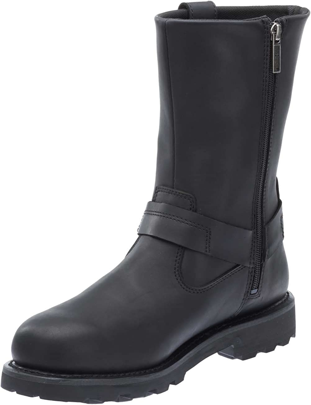 Harley-Davidson Mens Mansfield Black Performance Motorcycle Boots D96112