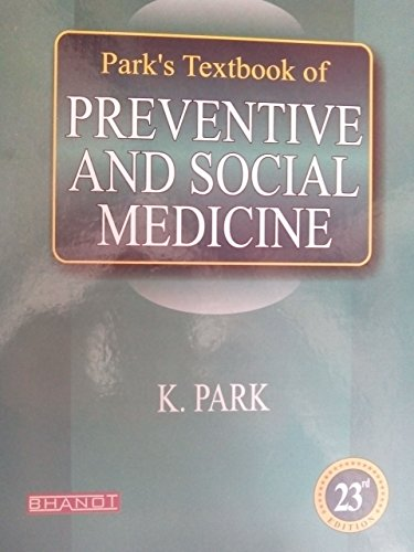 Park Textbook of Preventive and Social Medicine 23rd edition (park psm)