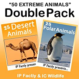 50 extreme animals 25 desert animals 25 polar animals double 50 extreme animals 25 desert animals 25 polar animals double pack amazing fandeluxe Images