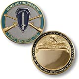 Home of Infantry, Fort Benning, GA - Engravable Challenge Coin