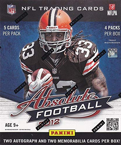 Sports Memorabilia 2012 Panini Absolute Football Hobby Box - Unsigned Football Cards ()