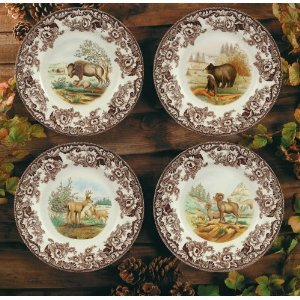 Spode Woodland American Wildlife Tableware Collection & Amazon.com | Spode Woodland American Wildlife Tableware Collection ...