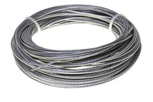 Cable de acero/alambre cuerda en acero galvanizado o 1,2,3,4 ...