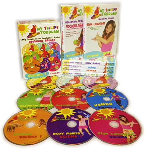 System 1 Disc (My Talking Toddler Early Communication Development System 9 Disc DVD & CD Set - Beginning Speech Volume 1)