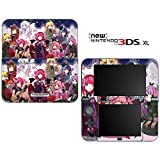Rosario+Vampire Decorative Video Game Decal Cover Skin Protector for New Nintendo 3DS XL (2015 Edition)