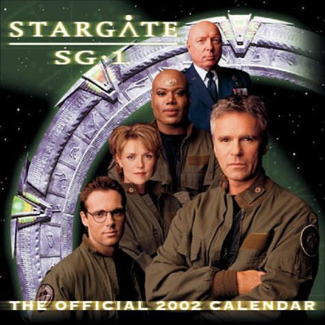 2002 Desk Pad Calendars - Stargate Sg1 Official 2002 Calendar