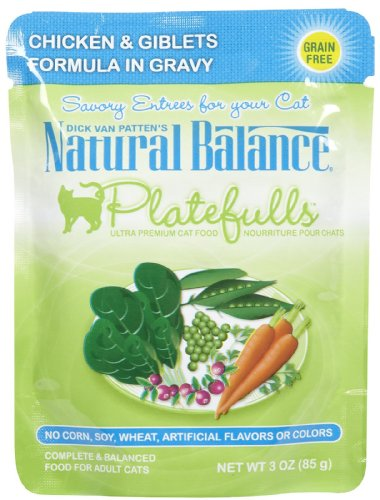 Natural Balance 3-Ounce Platefulls Chicken and Giblets Formu