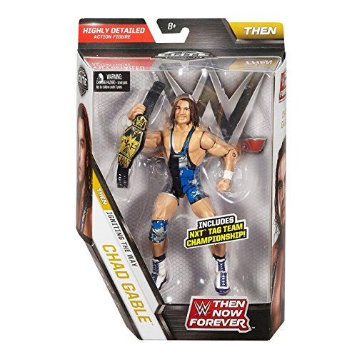 New Wwe Belt - WWE Elite Collection Then Now Forever Chad Gable Action Figure (with NXT Tag Team Championship Belt)