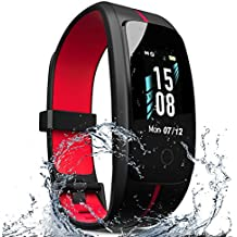 ZyMaSh Fitness Tracker – IP68 Waterproof Fitness Watch - Smart Watch Heart Rate Fitness Tracker –‎‎ Activity Tracker Color Screen - Sleep Monitor - Fit Watch Tracker Pedometer for Men, Women, ‎Kids