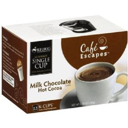 Cafe Escapes Hot Cocoa, Milk Chocolate, K-Cup Portion Pac...
