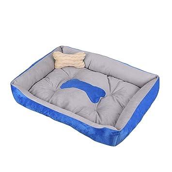 HuhuswwBin - Saco de Dormir Suave para Mascotas, Cama para Mascotas, Gato, Perro, Mascota, Gato, Cama Rectangular, Nido Suave, cálido: Amazon.es: Productos ...